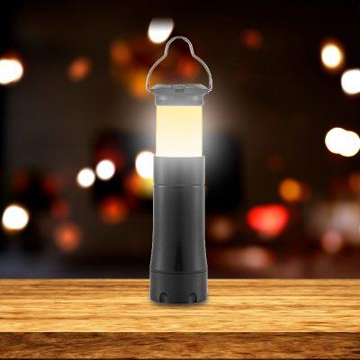 Ліхтар ручний Glow, 4 в 1, AL, лінза, фокус, 100LM