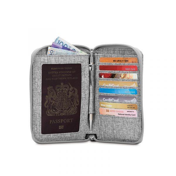 """Паспорт кейс-гаманець """"антизлодій"""" RFIDsafe LX150 4"""