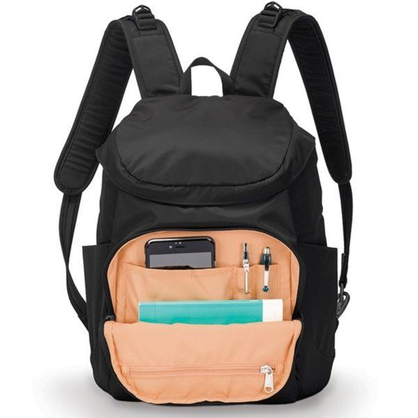 """Жіночий рюкзак """"антизлодій"""" Citysafe CS300, 6 ступенів захисту 4"""