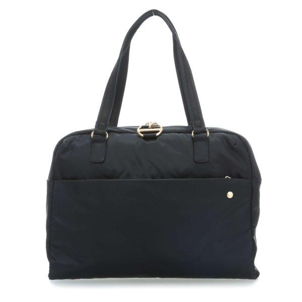 """Жіноча сумка через плече """"антизлодій"""" Citysafe CX slim. 6 ступенів захисту 4"""