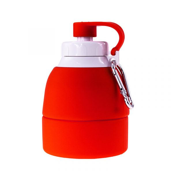 Складна пляшка для води BERGAMO TEMPO, силіконова, 580 мл 3
