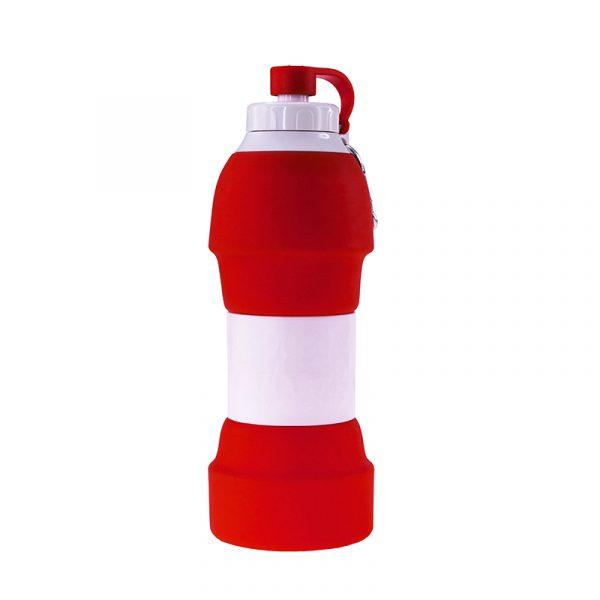 Складна пляшка для води BERGAMO TEMPO, силіконова, 580 мл 4