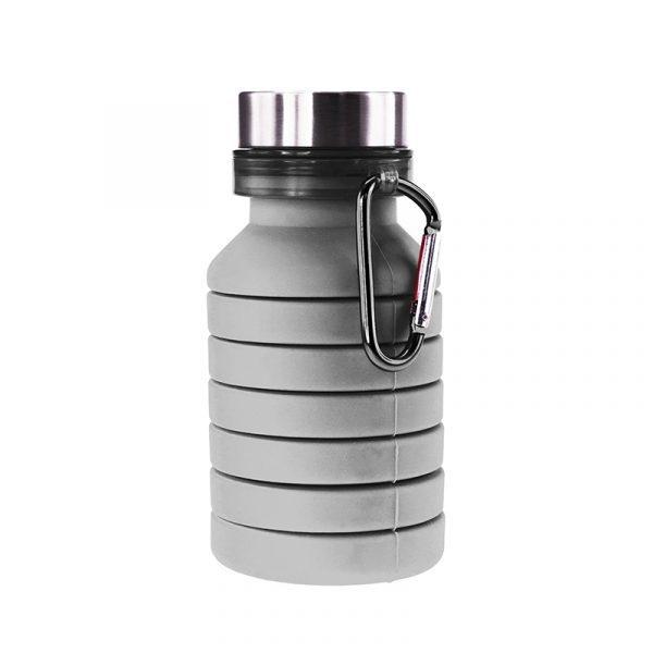 Пляшка для води Bergamo PAGODA, силіконова, 550 мл 2