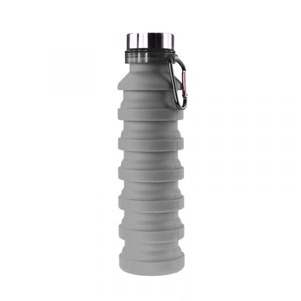 Пляшка для води Bergamo PAGODA, силіконова, 550 мл 3
