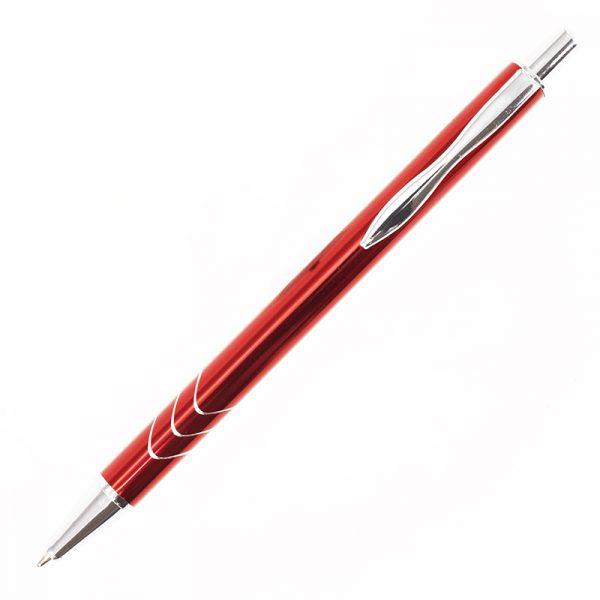 Ручка металева кулькова Bergamo Vive 4