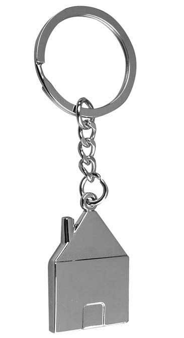 Брелок для ключів у формі будиночка 3