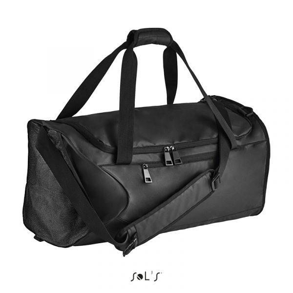 Спортивна сумка SOL'S CHROME, з тканини з просоченням 3