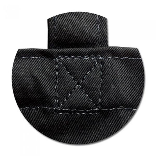 Еко сумка з бавовни 240 гм2, чорна 4