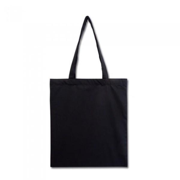 Еко сумка з бавовни 240 гм2, чорна 3