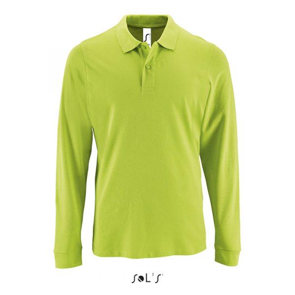 Чоловіча сорочка поло з довгим рукавом PERFECT LSL MEN 3