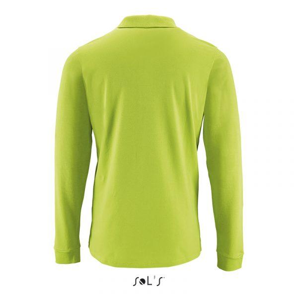 Чоловіча сорочка поло з довгим рукавом PERFECT LSL MEN 4