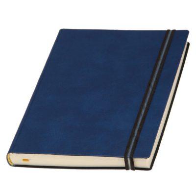 Щоденник Дакар Преміум Еластик, кремовий блок